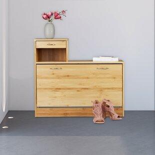 8 Pair Flip Down Shoe Storage By Gracie Oaks