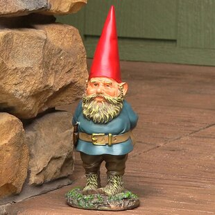 Hannon Gus The Original Gnome Statue By August Grove