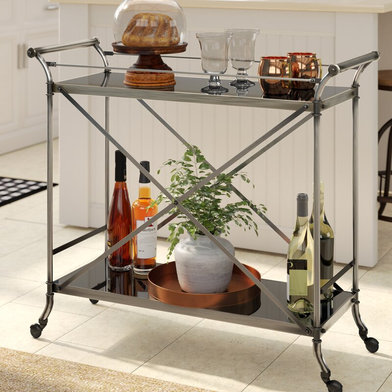 Kaufman Serving Bar Cart