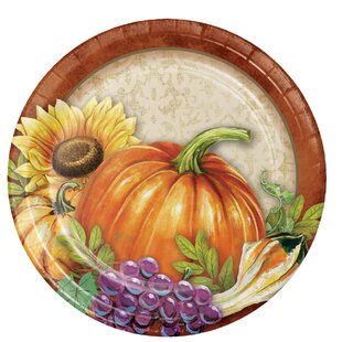 Maja Thanksgiving Paper Appetizer Plate (Set of 24)
