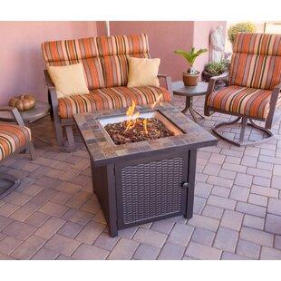 AZ Patio Heaters Slate Propane Gas Fire P..