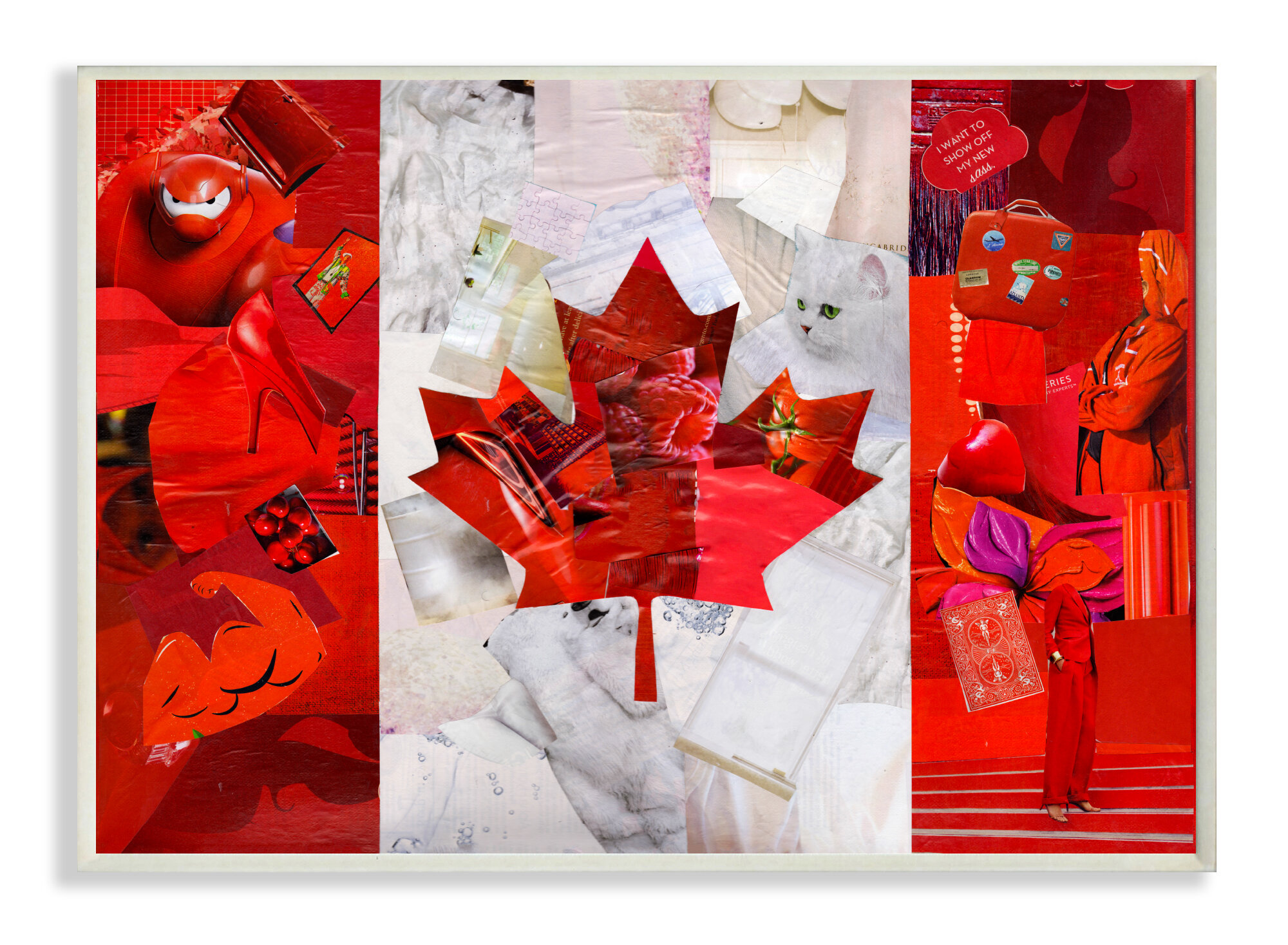Stupell Industries Canadian Flag With Graphic Images Stretched Graphic Art On Canvas Wayfair Ca