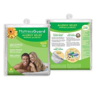 Fresh Ideas Allergy Relief Hypoallergenic Waterproof Mattress Protector