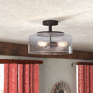 Mccary 3-Light Semi Flush Mount by Gracie Oaks