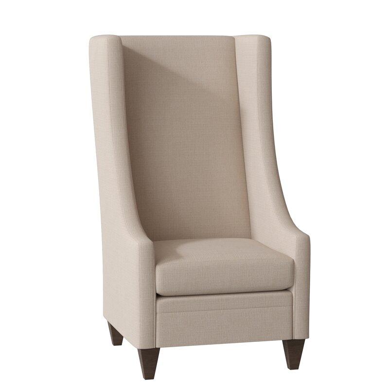 Saige Short Wingback Chair