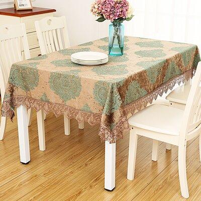 Astoria Grand Delancy European Jacquard Table Cloth