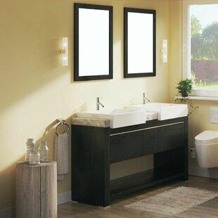 58 Double Bathroom Vanity Set by Bellaterra Home