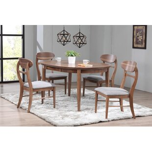Chau 5 Piece Solid Wood Extendable Dining..