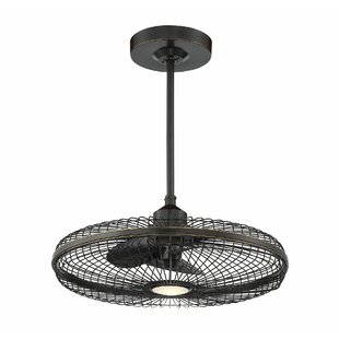 14 Yeates 3 Blade LED Ceiling Fan with Remote