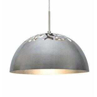 Besa Lighting Gordy 1-Light Dome Pendant