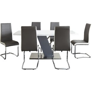 Nevada 7 Piece Dining Set by Langley Street