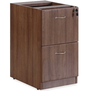 Essentials Series 2-Drawer Vertical Filing Cabinet by Lorell Modern