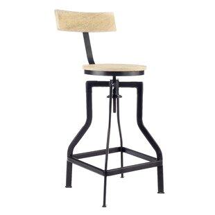 Singletary Height Adjustable Bar Stool By Williston Forge
