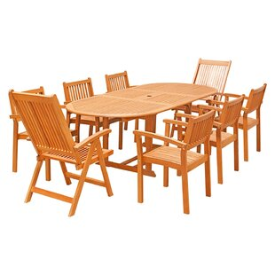 Rosecliff Heights Orinda 9-Piece Dining Set
