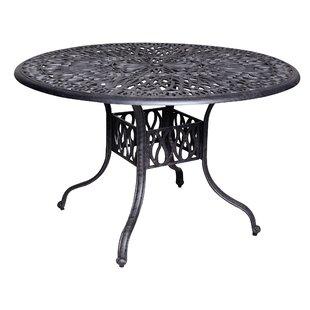 Fleur De Lis Living Thurston Aluminum Dining Table