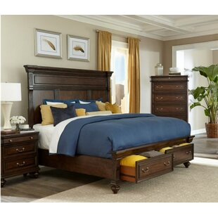Canora Grey Louvre Storage Panel Bed