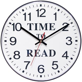 Time to Read 11.5 Wall Clock by Infinity Instruments