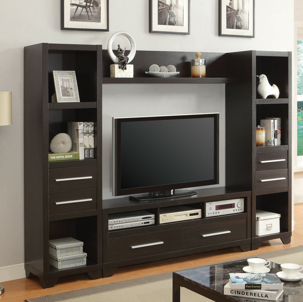 Latitude Run Ahana Entertainment Center For Tvs Up To 60 Wayfair