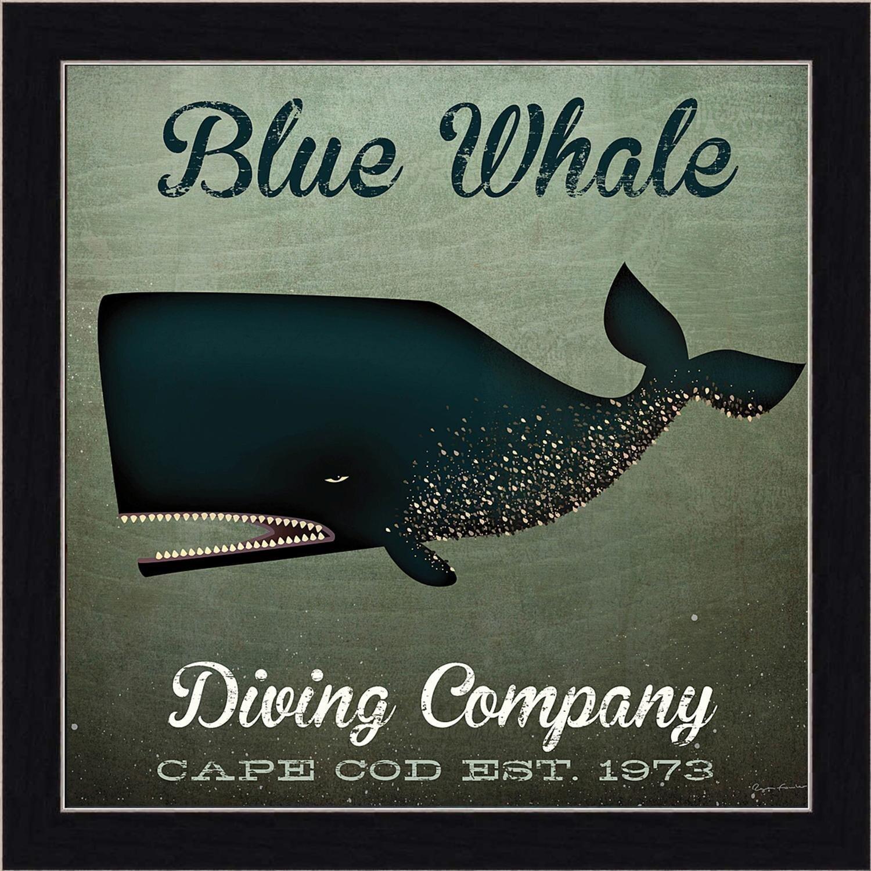 14 Wide Whale Framed Art You Ll Love In 2021 Wayfair