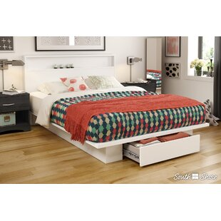 Holland Queen Storage Platform Bed by South Shore