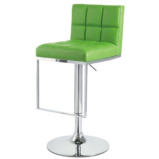 Alex Adjustable Height Swivel Bar Stool (..