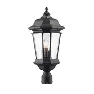 Fleur De Lis Living Bibb 3-Light Lantern ..