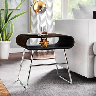 Miranda Mid-Century End Table by Wade Logan