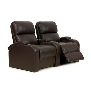 Latitude Run Home Theater Curved Row Seating (Row of 2)