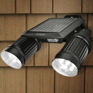 Touch of ECO Twinspot Pro Solar Powered Spot Light with Motion Sensor