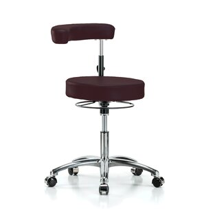 Height Adjustable Dental Stool with Procedure Arm