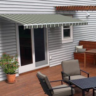 Permanent Patio Awning Wayfair