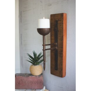 Recycled Wood Sconce