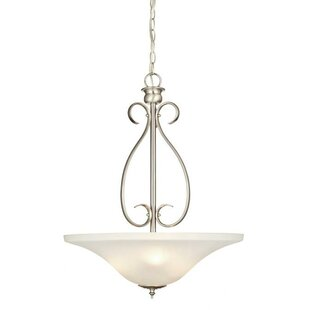 Mcrae 3-Light Bowl Pendant by Charlton Home