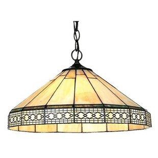 Millwood Pines Trosper 1-Light Inverted Pendant