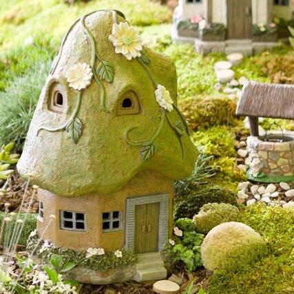 Miniature Round Garden Solar Fairy Garden