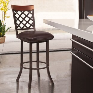 Lincoln 26 Swivel Bar Stool Alcott Hill