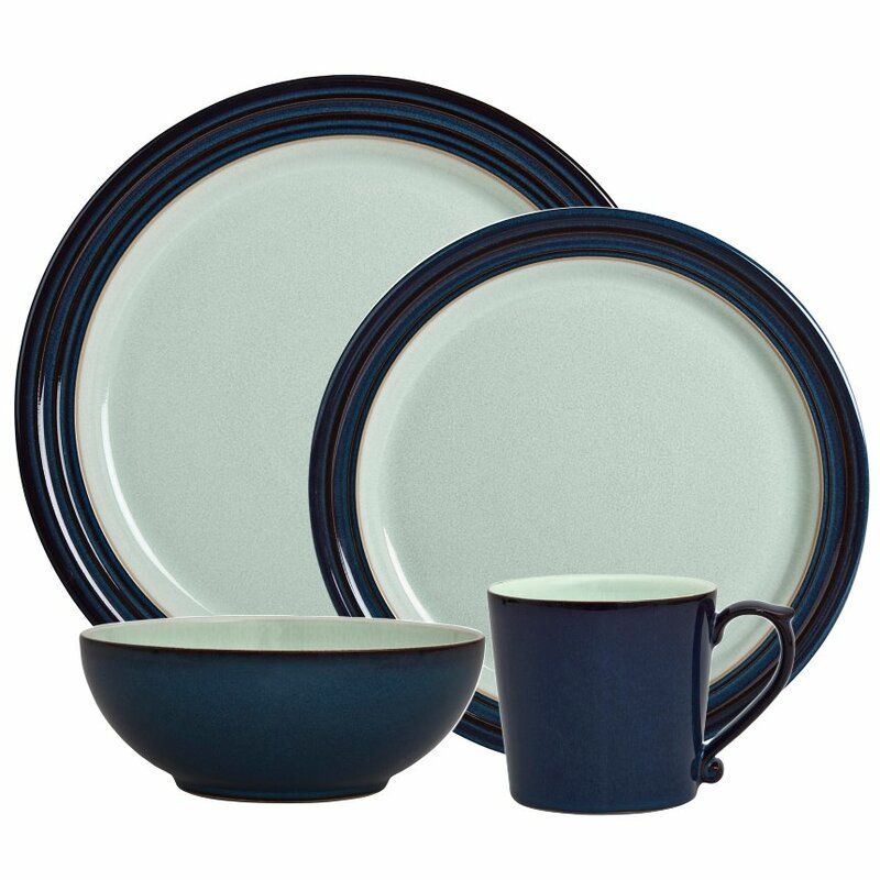 Peveril 4 Piece Place Setting Service for 1  sc 1 st  Wayfair & Denby Peveril 4 Piece Place Setting Service for 1 | Wayfair