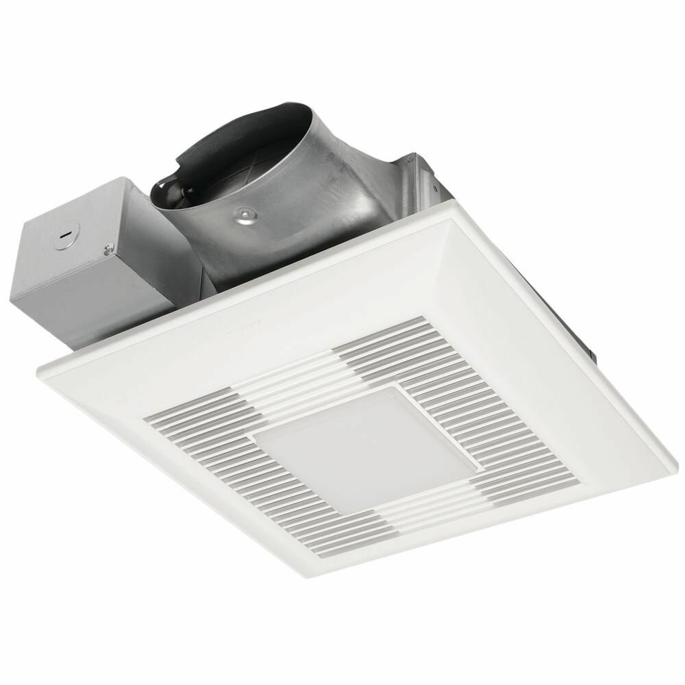 Exhaust 4 CFM Energy Star Bathroom Fan with Light
