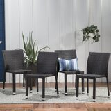 Blakely Stacking Patio Dining Chair (Set of 4) by Sol 72 Outdoor