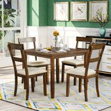 Abileigh 5 - Piece Dining Set by Red Barrel Studio®