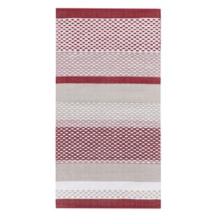 Itakyla Red/Grey Rug by Vallila