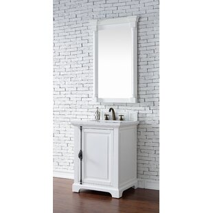 Ogallala Traditional 26 Single Cottage White Bathroom Vanity Set by Greyleigh