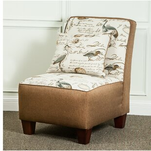 Hanson Slipper Chair by Rosecliff Heights