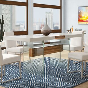 Wade Logan Clark Extendable Dining Table