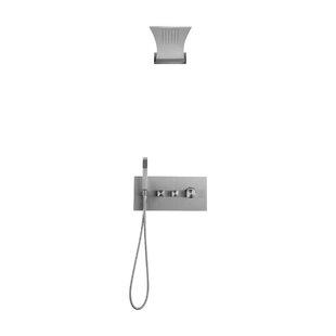 Boann Recessed Mount Adjustable Shower Head Complete System