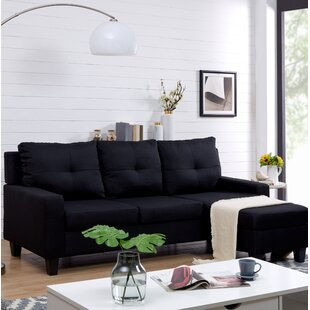 Wrought Studio Nevitt Reversible Sectional