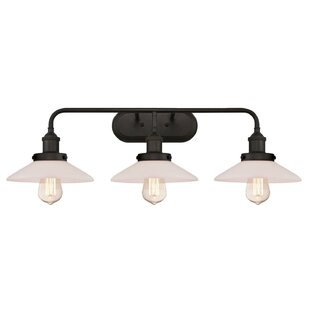 Reviews Darcella 3-Light Vanity Light By Williston Forge