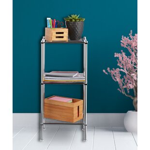 33 X 72cm Free Standing Bathroom Shelf By Symple Stuff