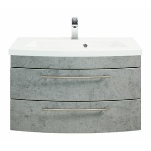 Holli 820mm Wall Mount Single Vanity Unit By Ebern Designs