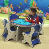 Seascape Kids 5 Piece Table and Chair Set by Playscapes